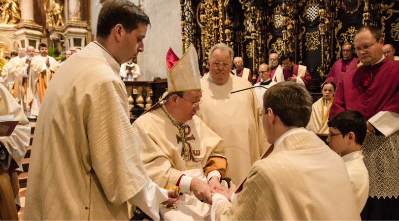 celibacy and catholic priests Call for commission to reconsider celibacy as condition of priesthood as number of priests in england and wales plummets.