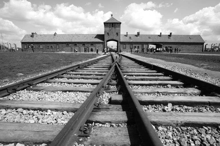a history of auschwitz nazi concentration camp in poland